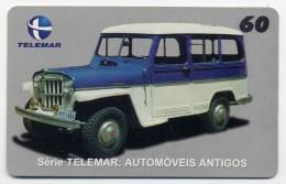 Voiture Rural Willys Année 1959 Car Télécarte Phonecard  Telefonkarte R677 - Auto's