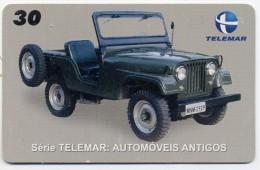 Jeep Willys Version Militaire Voiture Car Télécarte Phonecard  Telefonkarte R679 - Auto's