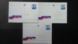 Entier Postale: Banque De La Poste (3 Langues) - Cartes Postales [1951-..]