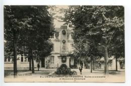 Chateauneuf Sur Charente Ecoles Communales Et Monument Hstorique - Chateauneuf Sur Charente