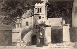 TLEMCEN - Porte Du Méchouar (intérieur) - Tlemcen