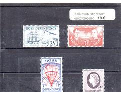 TERRE DE ROSS 1967 N° 5 / 8 ** - Neufs