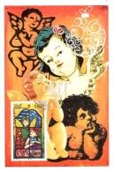 Carte PJ Joyeux Noel 2011 Saint-Pierre - Maximumkaarten