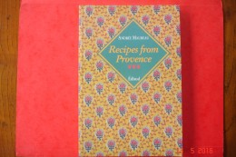 Recipes FromProvence 22,5x15,2. Maureau Edisud.1993. - Cuisine, Plats Et Vins