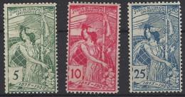 Suiza 0086/88 * Charnela. 1900 - Nuevos