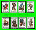 301/308** - Coiffes Africaines I / Afrikaanse Hoofdtooien I - RWANDA - Rwanda