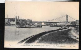 CONFLANS Sainte Honorine  - Le Pont Suspendu, OBB34 - Conflans Saint Honorine