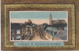 Souvenir De  (80) ROSIERES DE PICARDIE ( Carte à Système SANS Dépliant Mini -vues ) - France