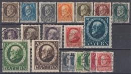 Bayern Minr.94A-115A Gestempelt - Lots & Kiloware (max. 999 Stück)