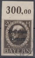 Bayern Minr.133B OR Gestempelt - Bayern