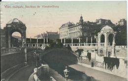 AK 0412  Wien - Stadtpark / Abschluss Der Wieneinwölbung Um 1912 - Vienna Center