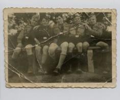 Petite Photo D'un Groupe De Jeunesses Hitlériennes 39-45 - 1939-45