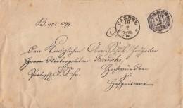 NDP Dienstbrief EF Minr.D5 Cassel 19.2. Gel. Nach Hofgeismar - Norddeutscher Postbezirk