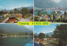 Grote Kaart Italia Camping Venus Idro Ider Provincia Di Brescia Lombardia Valle Sabbia Lago Omonimo - Brescia