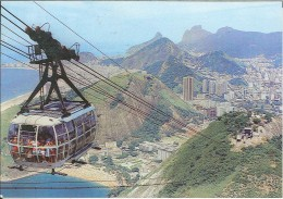 CPM Brésil - Rio De Janeiro - Sugar Loaf Cable Car - Rio De Janeiro