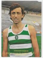 PORTUGAL- Fernando Mamede -Recordista Europeu Dos 10.000 M Em 27m 27s 7 Alvalade 30/05/81. - Athletics