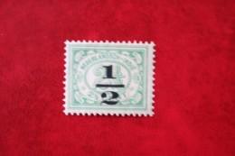 Nood Uitgifte Overprint 1/2 Ct NVPH 138 1917-1918 Ongebruikt / MH NEDERLAND INDIE / DUTCH INDIES - Indes Néerlandaises