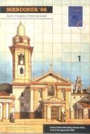 MERCOSUR 98 2 PUBLICACIONES UNA LA DESCRIPCION COMPLETA DEL SALON FILATELICO INTERNACIONAL DE 22 PAGINAS Y OTRA EL CATAL - Exposiciones Filatélicas