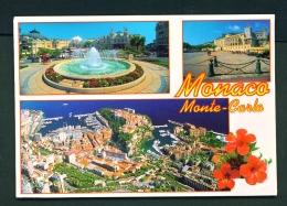 MONACO  -  Monte Carlo  Multi View  Used Postcard As Scans - Monte-Carlo