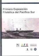 PRIMERA  EXPOSICION FILATELICA DEL PACIFICO SUR QUITO ECUADOR AÑO 2012 36 PAGINAS - Exposiciones Filatélicas