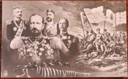 Balkan Wars, Balkan Kriegs, King Petar (Serb), King Nikola (Montenegro), Tsar Ferdinand (Bulg), King George (Greece) - Guerres - Autres