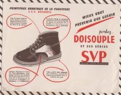 235 BUVARD CHAUSSURES DOISOUPLE   21 X 16CM - Shoes