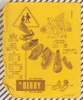 238 BUVARD LES CHAUSSURES AU DERBY    21.5 X 15CM  Abimé - Shoes