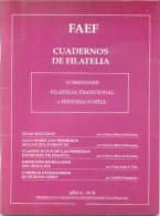 CUADERNO DE FILATELIA AÑO 4 NRO. 9 FAEF AÑO 1991 52 PAGINAS FEDERACION ARGENTINA DE ENTIDADES FILATELICAS - Filatelia E Historia De Correos
