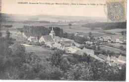 PERNANT - Dans Le Lointain, La Vallée De L'Aisne - France