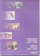 CATALOGO DE TIMBRES DE CORREO PRIVADO OCA 1987-1999 POSTAL ISSUES L'ARGENTINE A COLORES 96 PAGINAS - Thema's