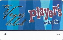 Las Vegas Club Casino - Las Vegas, NV - Slot Card - Player's Club  (BLANK) - Casino Cards
