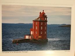 Leuchtturm KJEUNGSKJAER FYR AM BJUNGFJORDEN , NORWEGEN - Faros
