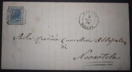 ANNULLI NUMERALI EMILIA: NUMERALE FANANO Modena - 1861-78 Vittorio Emanuele II