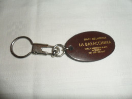 ANCIEN PORTE-CLE / PUB BAR GELATERIA LA BARACCHINA MODENA - Porte-clefs