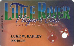 Little River Casino Manistee, MI - 2nd Issue Slot Card - Casino Cards