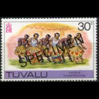 TUVALU 1978 - Scott# 68 Dancing Specimen 30c MNH - Tuvalu (fr. Elliceinseln)