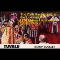 TUVALU 1978 - Scott# 84b Booklet-Coronation MNH - Tuvalu