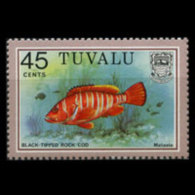TUVALU 1979 - Scott# 108A Fish Set Of 1 MNH - Tuvalu
