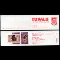 TUVALU 1984 - Scott# 192B Booklet-Arms MNH - Tuvalu