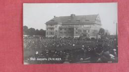> Czech Republic    RPPC  Slet Dorostu  24 VI 1924 ==========ref 2210 - Tchéquie