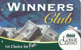 Lodge Casino Black Hawk, CO - Slot Card  (BLANK) - Casino Cards
