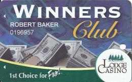 Lodge Casino Black Hawk, CO - Slot Card - Casino Cards