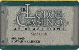 Lodge Casino Black Hawk, CO - 1st Issue Slot Card - CCS Over Mag Stripe - Casino Cards