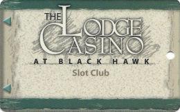 Lodge Casino Black Hawk, CO - 6th Issue Slot Card - ACC Over Mag Stripe  (BLANK) - Casino Cards