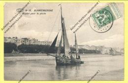 CPA BLANKENBERGHE Départ Pour La Pêche 1913 ( Peu Commune ) - Blankenberge