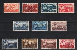 1947 - Roi Michel / Activites Nationales Yv No 976/986 Et Mi 1066/1076 - 1918-1948 Ferdinand, Carol II. & Mihai I.