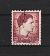1947 - Roy Michele Avec Surcharge C.B.A. Mi 1077 Et Yv  996 - Usado