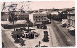 TUNISIE : Tunis Bizerte , La Place Madon ( 2 Scans ) - Tunisie