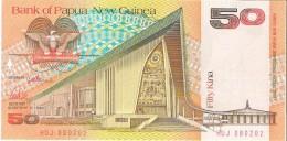 Papua New Guinea - Pick 11a - 50 Kina 1989 - Unc - Papouasie-Nouvelle-Guinée