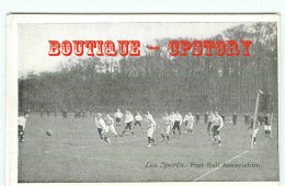 FOOTBALL - MATCH De FOOT - SPORT GAMES - DOS SCANNE - Football